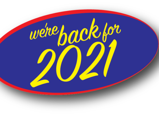 We're Back for 2021